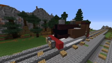 LBSCR E2 Steam Engine (Thomas the Tank Engine) Minecraft Map & Project