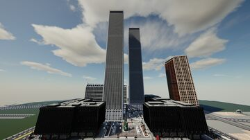 The World Financial Center | New Limesville City | NL | UCS Minecraft Map & Project