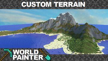 Trydar's Custom Terrains for World Painter +Tutorial Minecraft Map & Project