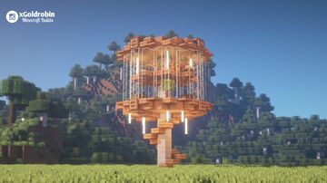Brown mushroom House Minecraft Map & Project