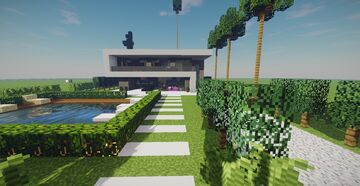 Modern House (December Projects #3) Minecraft Map & Project