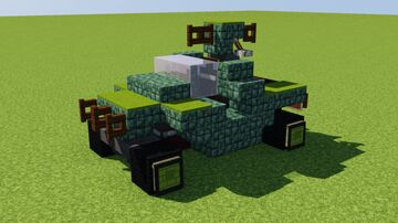 UNSC M12 Warthog Minecraft Map & Project