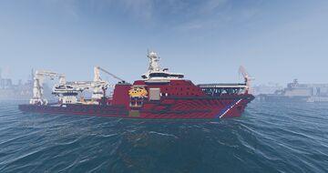 disaster response vessel V2 (remake) + download!! Minecraft Map & Project