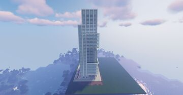 Modern Office Tower Minecraft Map & Project