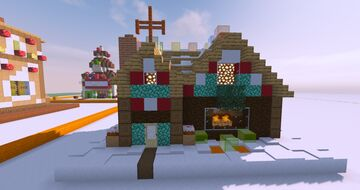 """Yule Log Cabin