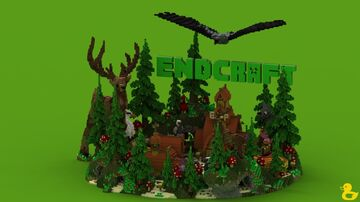 ENDCRAFT Forest Lobby Minecraft Map & Project