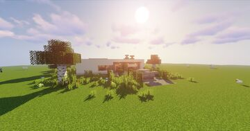 EG0 - Modern House Minecraft Map & Project