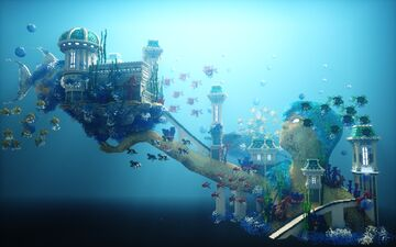 Aqua Princess Minecraft Map & Project