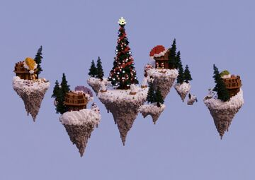 BedWars Map | Christmas [DOWNLOAD] Minecraft Map & Project