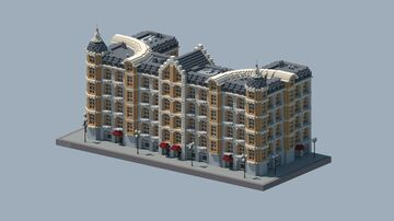 European Commercial Building 3 Minecraft Map & Project