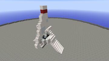 Incom T-16 Skyhopper Minecraft Map & Project