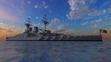 Brazilian Battleship Riachuelo - For L4UTY_Z3R0 Minecraft Map & Project
