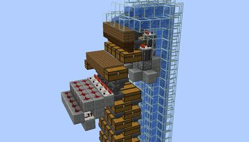 AIRUS - Automatic Item Retrieval for Underground Storage Minecraft Map & Project