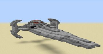 Darth Maul's Sith Infiltrator (now with download) Minecraft Map & Project