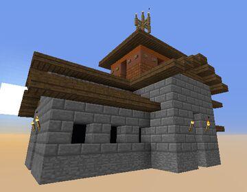 Visigothic Church-San Pedro De Nave Minecraft Map & Project