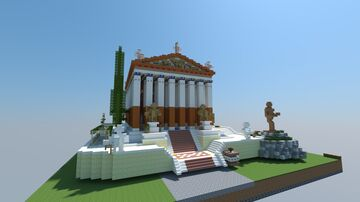 AC Oydssey Grand Temple of Apollo Minecraft Map & Project