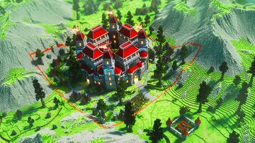 Castle Faction Spawn Minecraft Map & Project