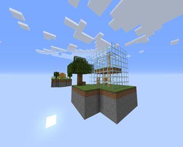 BeeBlock Portals DEMO #3 (Inspired by Noobcrew's Skyblock) Minecraft Map & Project