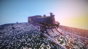 Christmas train Minecraft Map & Project