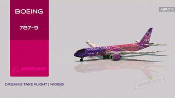 Boeing 787-9 | Dreams Take Flight Minecraft Map & Project