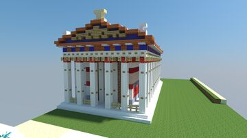 AC Oydssey Sancturary of Asklepios Minecraft Map & Project
