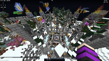 Winter Factions Spawn Minecraft Map & Project