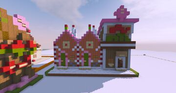 "The Pink Macaroon Motel|Sugar n"" Spice Collection Minecraft Map & Project"