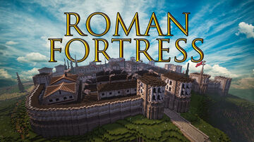 Roman castle / camp / fortress +DOWNLOAD Minecraft Map & Project