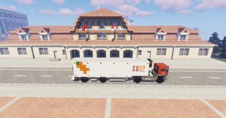 Popular Server Project : 1.5:1 Scale Scania Coop Transport Truck & Trailer
