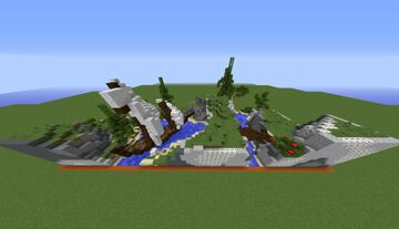 Small River and Small Boat | Plots - 05 Minecraft Map & Project