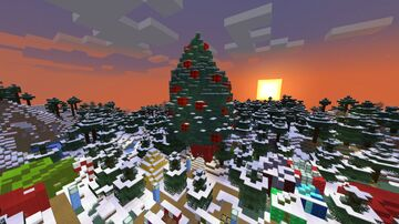 Christmas Town - Version 1.15 Minecraft Map & Project