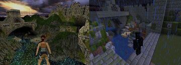 Tomb Raider: The Lost Artifact Recreation Minecraft Map & Project