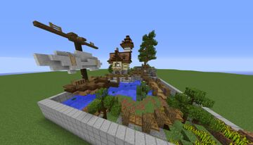 Small Harbor House | Plots - 07 Minecraft Map & Project