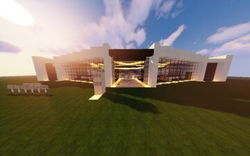 The Atrium Event Center Minecraft Map & Project