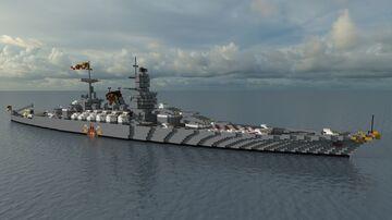Fictional Imperial Battleship - Enrico Dandalo - For NagiFX Minecraft Map & Project