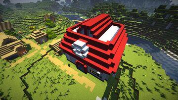 Pokémon Center (Omega Ruby / Alpha Saphire) Minecraft Map & Project
