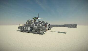 T28 Super Heavy Tank Minecraft Map & Project