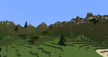 Holly Isle Custom Terrain Minecraft Map & Project