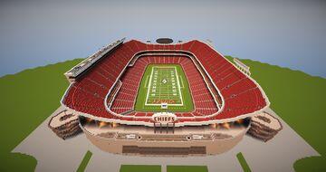 Arrowhead Stadium (Kansas City Chiefs) Minecraft Map & Project