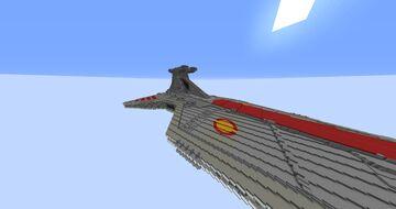 1.14.x/15.x Venator class Destroyer Minecraft Map & Project