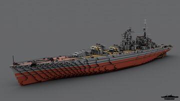 Battleship Lenin 1:1 Scale Minecraft Map & Project