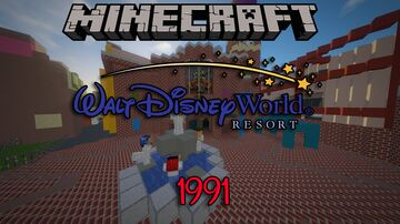 Walt Disney World - (1991) Minecraft Map & Project