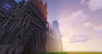 Cathedrale Minecraft Map & Project