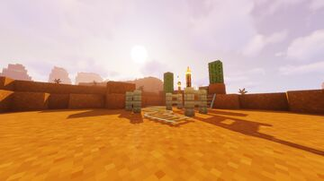 HollowSeas Civs - Sand Pit/Quarry {Mesa} {Downloadable} Minecraft Map & Project