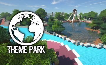 World Theme Park (WIP) Minecraft Map & Project