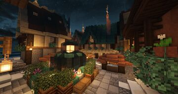 Winter Village Wonderland Minecraft Map & Project