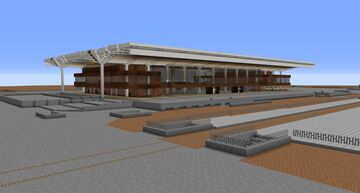 Warsaw Central Railway Station Minecraft Map & Project
