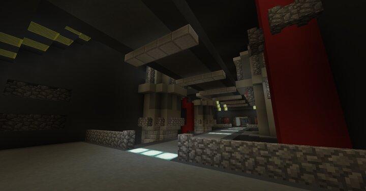 Engineering  reactor room