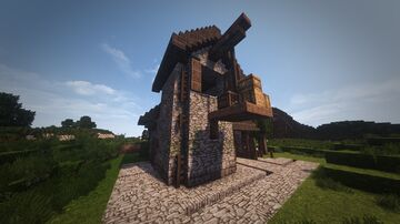 Medieval Warehouse 2 [DOWNLOAD] Minecraft Map & Project