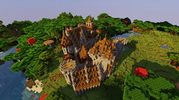 Small Castle w/ interiors Minecraft Map & Project